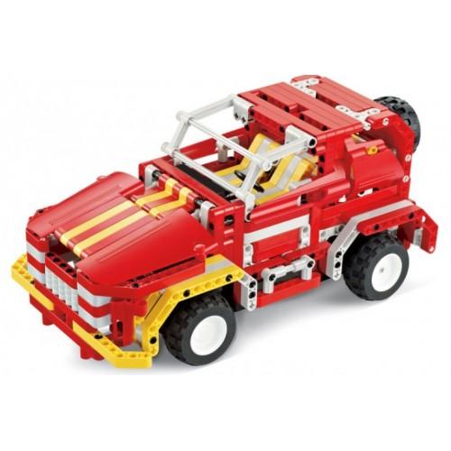 """Радиоуправляемый конструктор - грузовик """"Пожарная машина"""" QiHui 8002"""