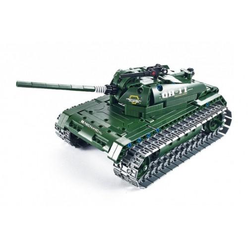 Радиоуправляемый конструктор танк QiHui Technics 4CH 2.4G 453 деталей QiHui QH8011