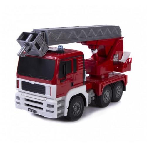 Радиоуправляемая пожарная машина Double Eagle масштаб 1:20 2.4GHz E517-003