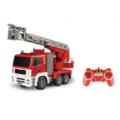 Радиоуправляемая пожарная машина Double Eagle масштаб 1:20 2.4G (брызгает водой) E567-003