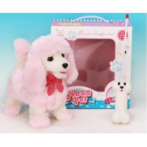 """Радиоуправляемая плюшевая собака """"Пудель"""" Nanyang 9691B4"""