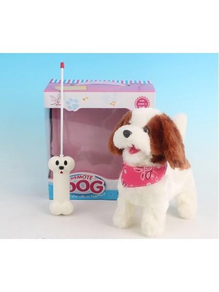 """Радиоуправляемая плюшевая собака """"Болонка"""" Nanyang 9698B4"""