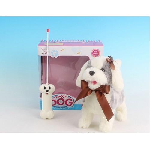 """Радиоуправляемая плюшевая собака """"Болонка"""" Nanyang 9699B4"""