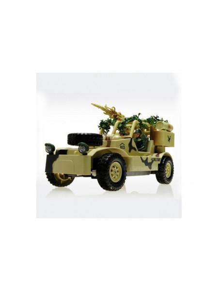 Радиоуправляемый военный джип Field Vehicle 1:20 MYX 8019B