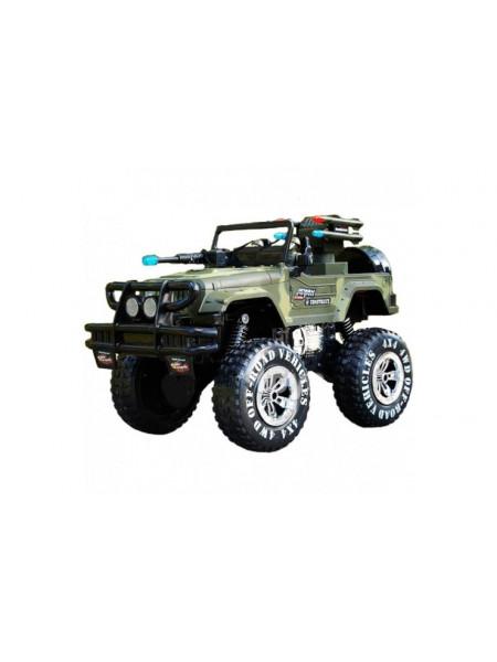 Радиоуправляемый военный джип Land Battles 1:10 MYX MYX302