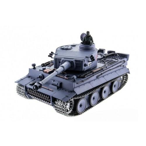 Радиоуправляемый танк German Tiger Pro масштаб 1:16 40Mhz Heng Long 3818-1pro