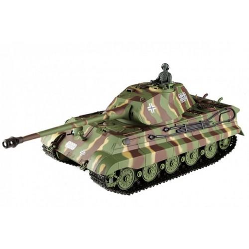 Радиоуправляемый танк German King Tiger масштаб 1:16 40Mhz Heng Long 3888-1