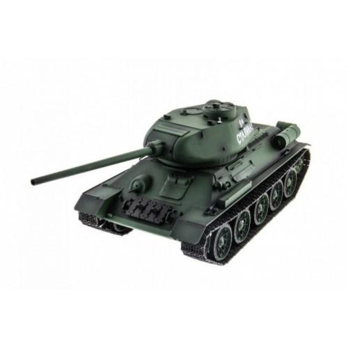 Радиоуправляемый танк Russia T34-85 Pro масштаб 1:16 2.4G Heng Long 3909-1pro