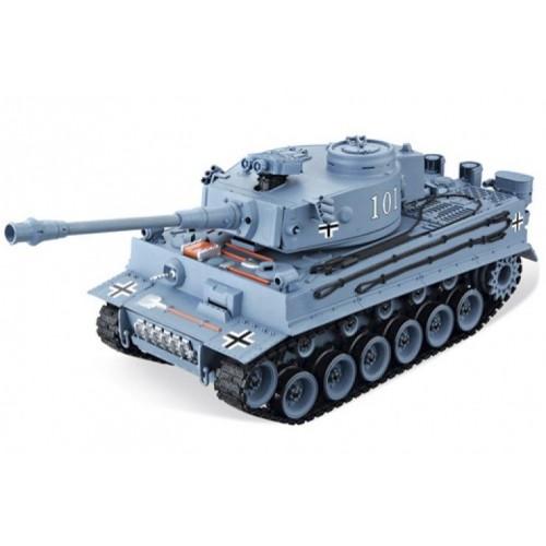 Радиоуправляемый танк German Tiger Grey масштаб 1:20 40Mhz Household 4101-1