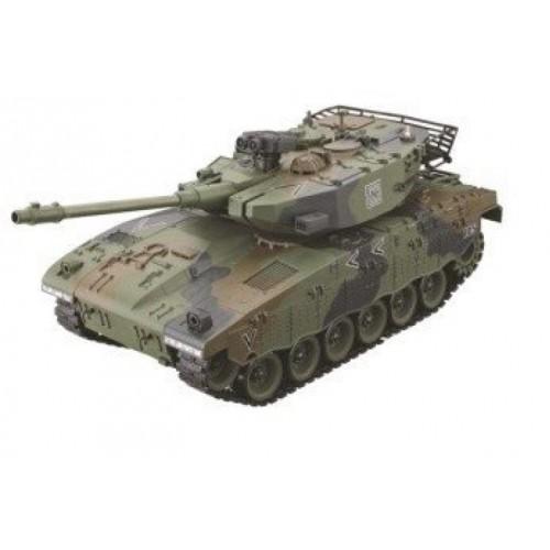 Радиоуправляемый танк Israel Merkava зеленый масштаб 1:20 27Мгц Household 4101-10