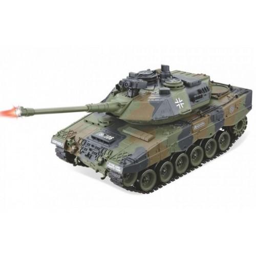 Радиоуправляемый танк German Leopard 2 масштаб 1:20 27Мгц Household 4101-11