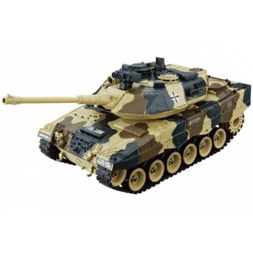 Радиоуправляемый танк German Leopard 2 масштаб 1:20 27Мгц Household 4101-12