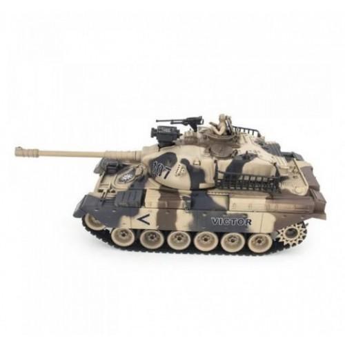 Радиоуправляемый танк USA M60 масштаб 1:20 27Мгц Household 4101-13