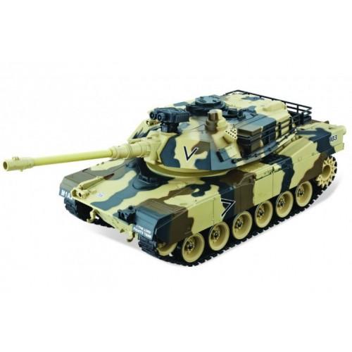 Радиоуправляемый танк M1A2 Abrams Yellow Edition масштаб 1:20 27Мгц Household 4101-5