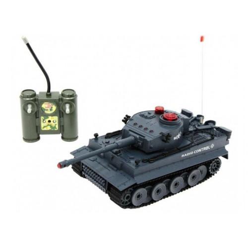 Радиоуправляемый танк (на аккумуляторе, свет, звук) Huan QI 518