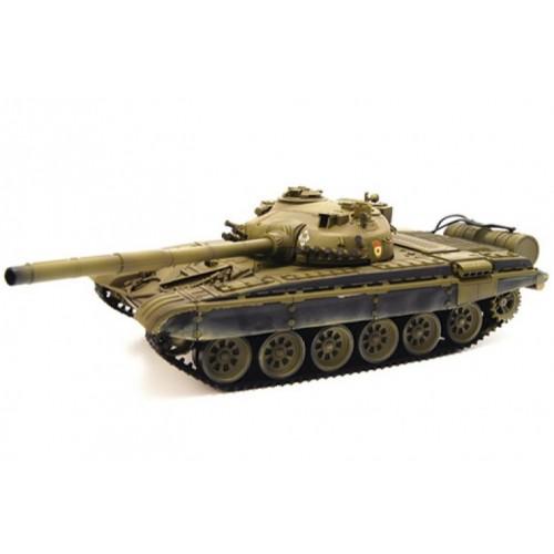 Радиоуправляемый танк Airsoft Series Russia T72-M1 Green масштаб 1:24 2.4G VS A03102975