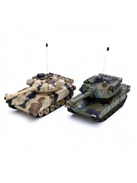 Радиоуправляемый танковый бой Household YH4101C-5VS-7