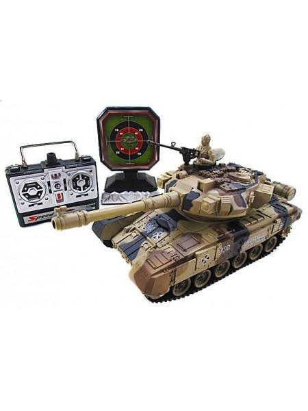 Радиоуправляемый танк с мишенью Household Russia T-90 YH4101D-5