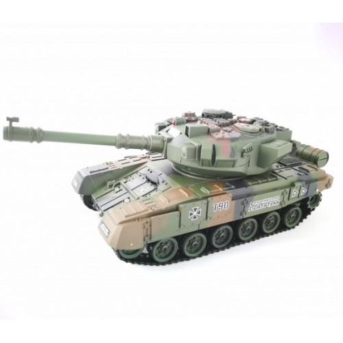Радиоуправляемый танк с мишенью Household Russia T-90 YH4101D-6