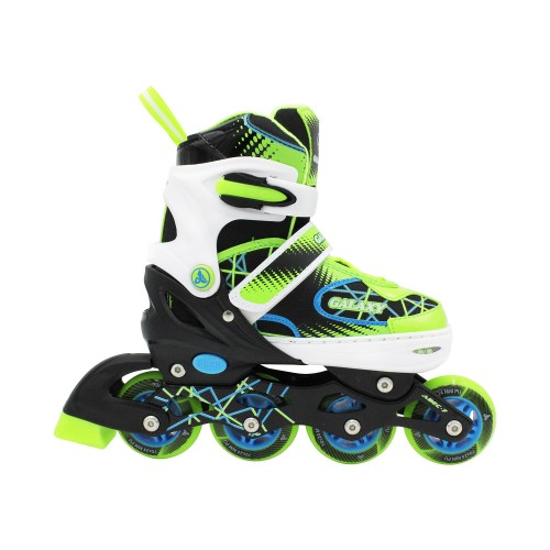 Раздвижные роликовые коньки Galaxy Green