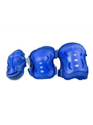 Раздвижные роликовые коньки MaxCity Volt Combo синий
