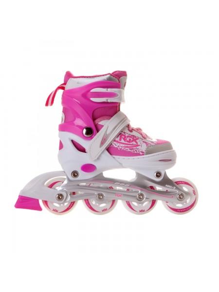 Раздвижные роликовые коньки RGX Braman Pink