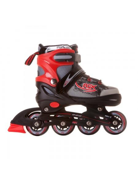 Раздвижные роликовые коньки RGX Braman Red