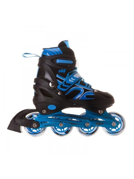 Раздвижные роликовые коньки RGX Vector Blue