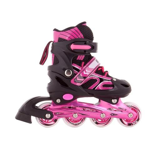 Раздвижные роликовые коньки RGX Vector Pink