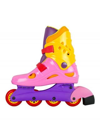 Роликовые коньки СК (Спортивная Коллекция) Rocket Jet розовый