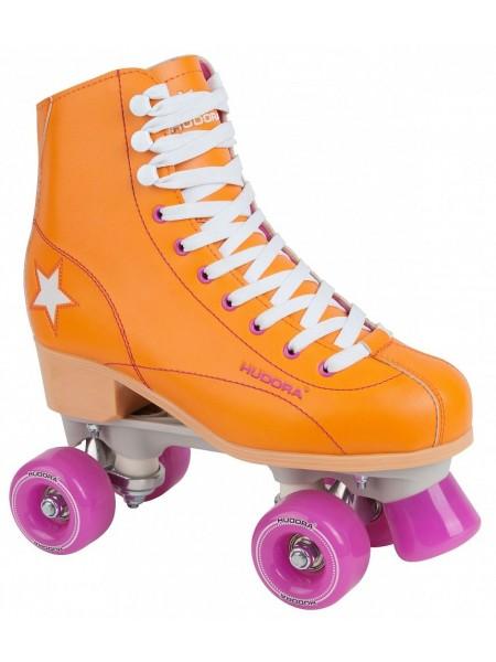 Роликовые коньки HUDORA Rollschuh Roller Disco оранжевый