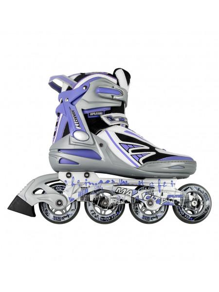 Роликовые коньки MaxCity Spliter фиолетовый