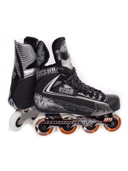 Роликовые коньки для хоккея Mission Axiom A5 Sr
