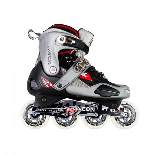 Роликовые коньки СК (Спортивная Коллекция) Neon серый