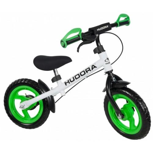 """Беговел HUDORA Laufrad Ratzfratz """"12"""" Green, зеленый"""