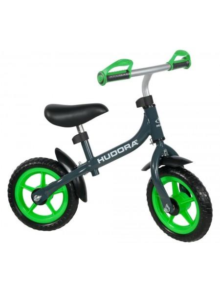 Беговел HUDORA Laufrad Bikey 3.0 Boy, 10, зеленый