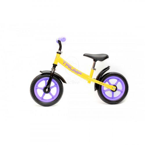 Беговел Triumf Active AKB-1289 yellow-purple