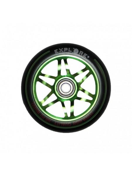 Колесо для трюковых самокатов EXPLORE SCOOTER WHEEL 110 ALU зеленый