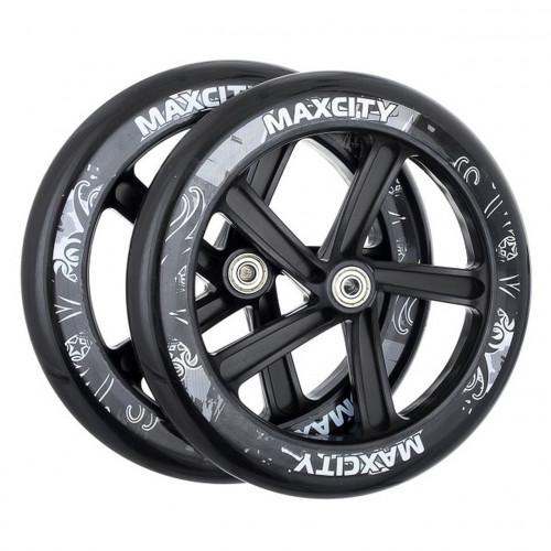 Колеса для самоката MaxCity черный