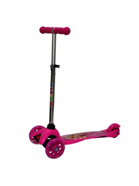 Самокат детский AMIGO DRIFT розовый