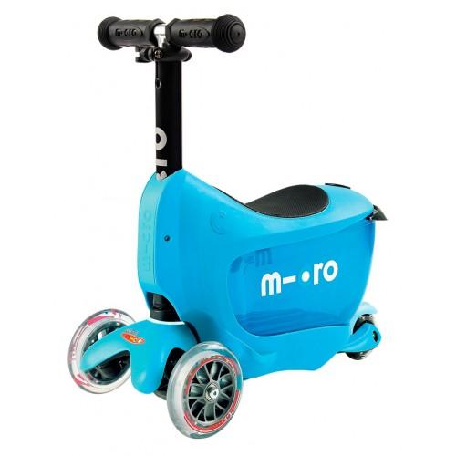 Самокат детский Micro Mini2go Deluxe синий