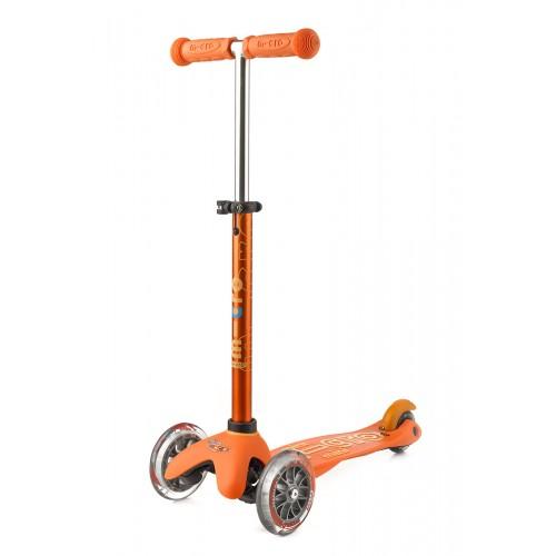 Самокат детский Mini Micro Deluxe оранжевый