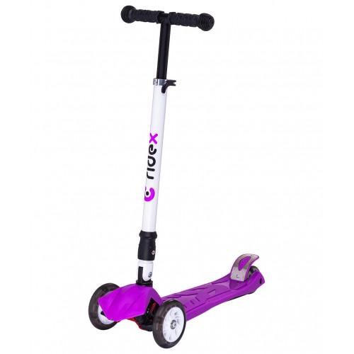 Самокат Ridex Smart 3D, 120/80 мм, фиолетовый
