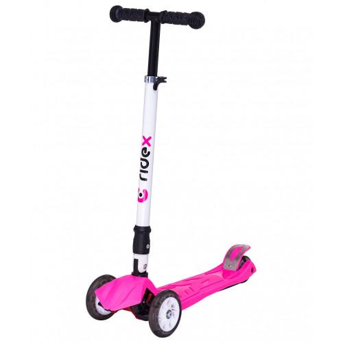 Самокат Ridex Smart 3D, 120/80 мм, розовый