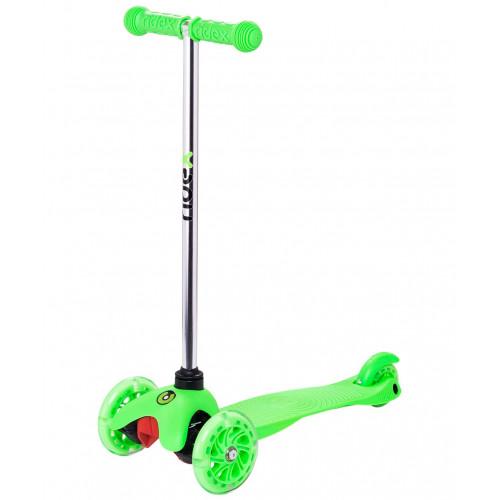 Самокат Ridex Zippy 2.0 3D 120/80 мм, зеленый