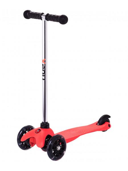 Самокат Ridex Zippy 2.0 3D 120/80 мм, красный
