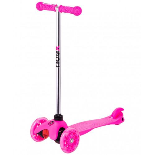 Самокат Ridex Zippy 2.0 3D 120/80 мм, розовый