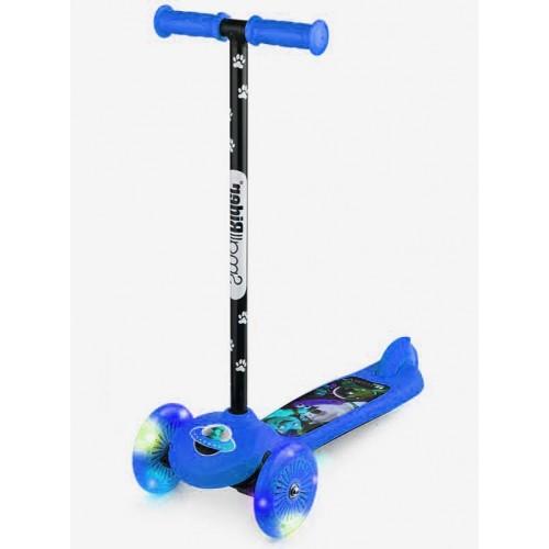 Самокат детский со светящимися колесами 2 в 1 Small Rider Scooter Flash (CZ) синий