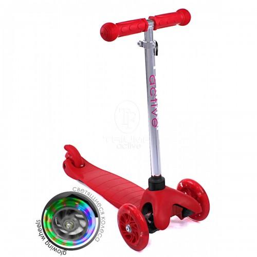 Самокат детский Triumf Active SKL-06AH Mini Up Flash Красный