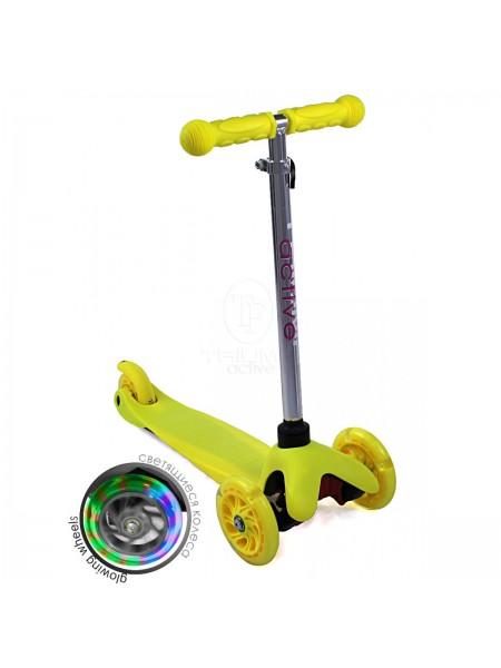 Самокат детский Triumf Active SKL-06AH Mini Up Flash Желтый